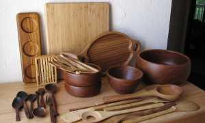 Кухонные предметы из дерева