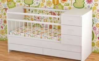 Детские кроватки после года