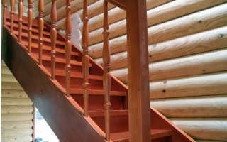 Тетива на лестнице