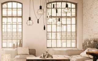 Светильники в стиле ретро