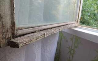 Как и чем красить старые деревянные рамы