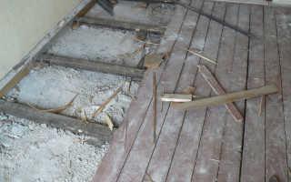 Особенности ремонта пола в хрущевке