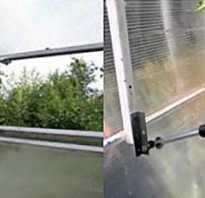 Термопривод для теплиц своими руками из амортизатора