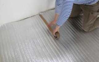 Подложка под пленочный теплый пол выбирайте правильно