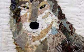 Пэчворк картины из лоскутков