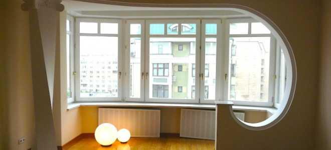 Балкон с залом