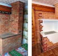 Отделка печи плиткой в частном доме