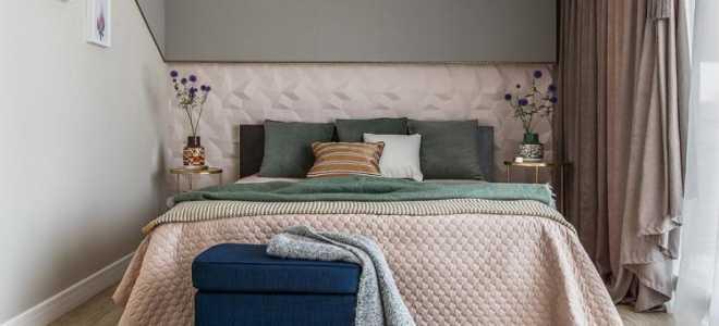 Дизайн длинной спальни фото