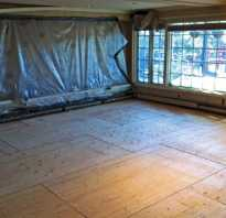Как укладывать фанеру на деревянный пол