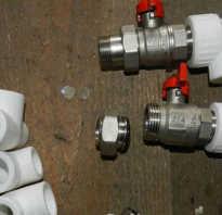 Как соединить полипропиленовые трубы с металлическими трубами