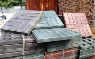 Процесс производства полимерной плитки в домашних условиях