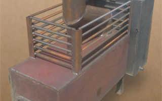 Металлическая банная печь своими руками чертежи