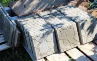 Себестоимость тротуарной плитки своими руками