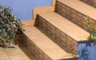 Как правильно класть плитку на ступеньки
