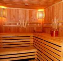 Обшивка стен бани изнутри