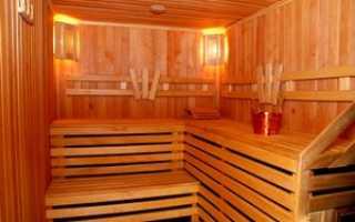 Как правильно отделать парилку в бане
