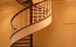 Винтовые лестницы на второй