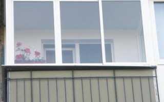 Застеклить балкон советы