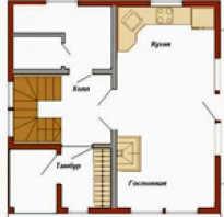 Планировка дома 7х7