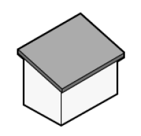 Как рассчитать площадь кровли двухскатной крыши калькулятор