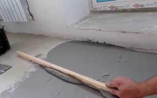 Как постелить ламинат на неровный пол