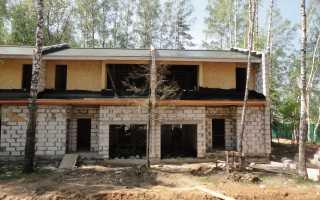 Крыша из сип панелей