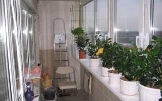 Светильник на балкон