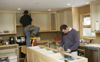 Кухонные модули для маленькой кухни