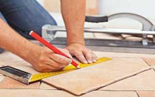 Как правильно разрезать плитку наиболее популярные инструменты