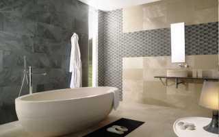 Кладка плитки в ванной